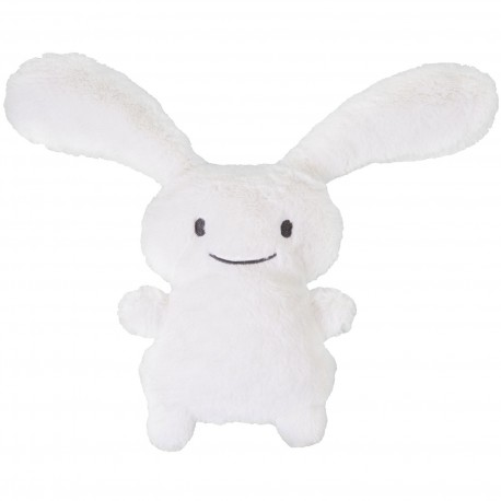 "TROUSSELIER - Peluche musicale Funny bunny ""Ice"" blanc"