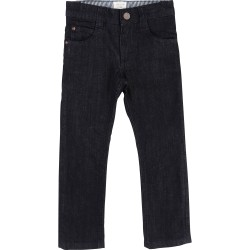 CARREMENT BEAU - Pantalon denim bleu
