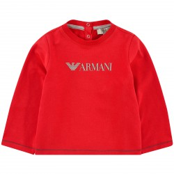 ARMANI JUNIOR - T-shirt rouge