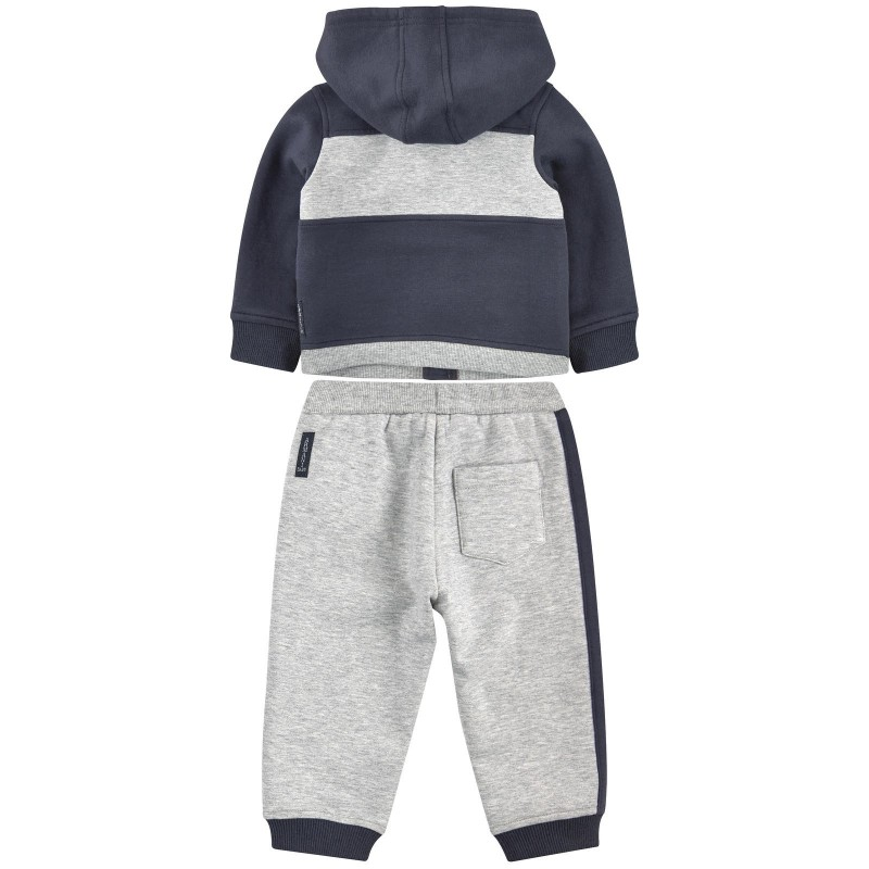 ARMANI JUNIOR - Ensemble jogging gris et bleu