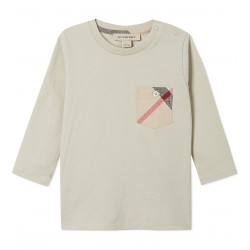 BURBERRY - T-shirt beige