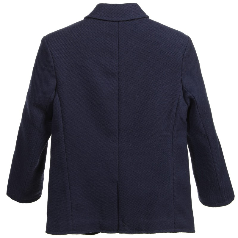 CARREMENT BEAU - Veste de costume bleue indigo