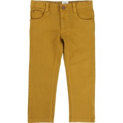 Pantalon moutarde