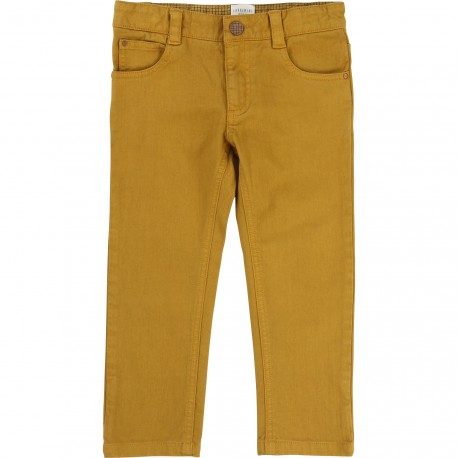 CARREMENT BEAU - Pantalon moutarde