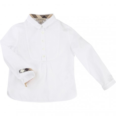 BURBERRY - Blouse blanche