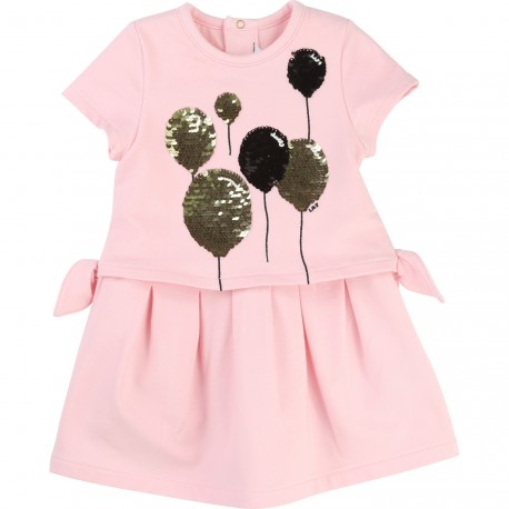 LITTLE MARC JACOBS - Robe rose