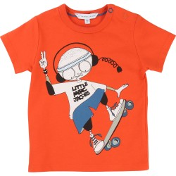 LITTLE MARC JACOBS - T-shirt rouge