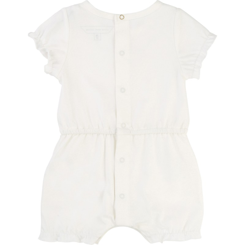 LITTLE MARC JACOBS - Combishort blanche