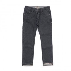 Pantalon denim gris