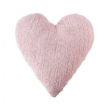 LORENA CANALS - Coussin Coeur Rose
