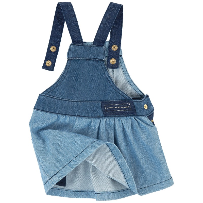 LITTLE MARC JACOBS - Robe salopette en jean