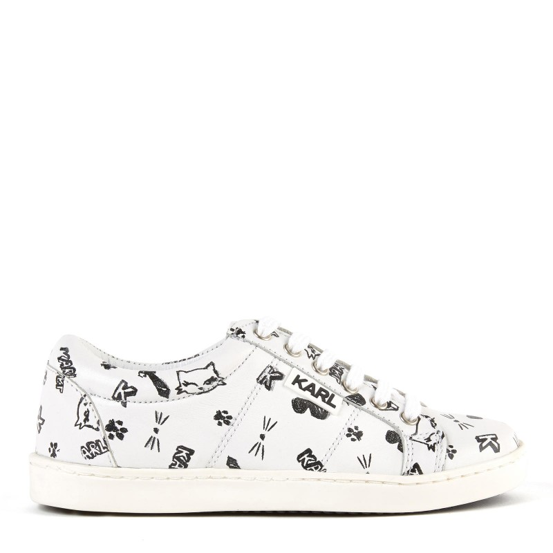 KARL LAGERFELD - Sneakers blanches