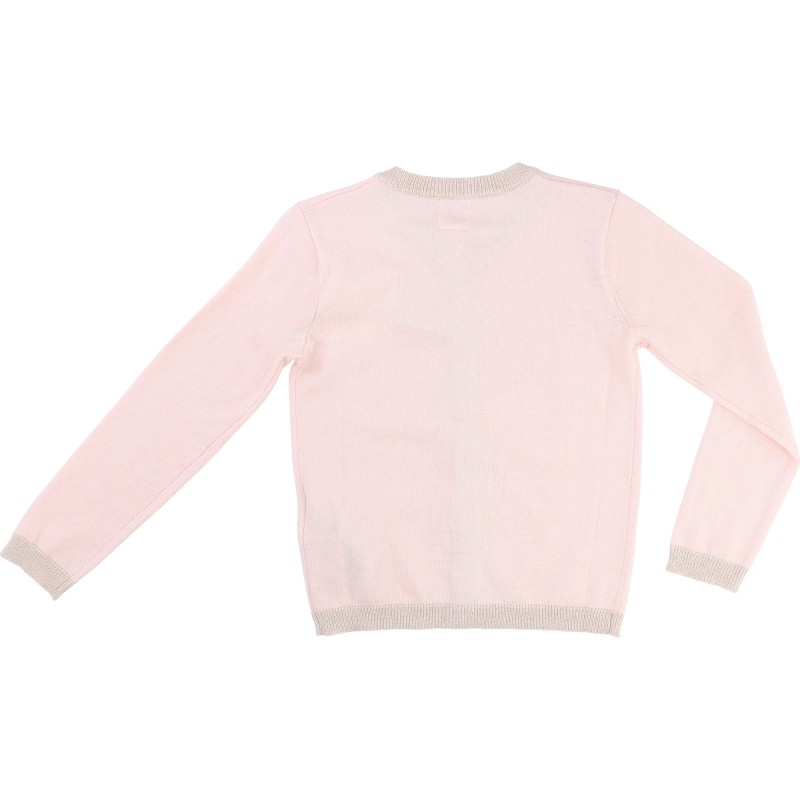 CARREMENT BEAU - Cardigan rose