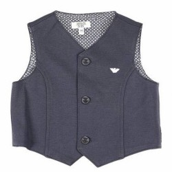 ARMANI JUNIOR - Gilet Bleu