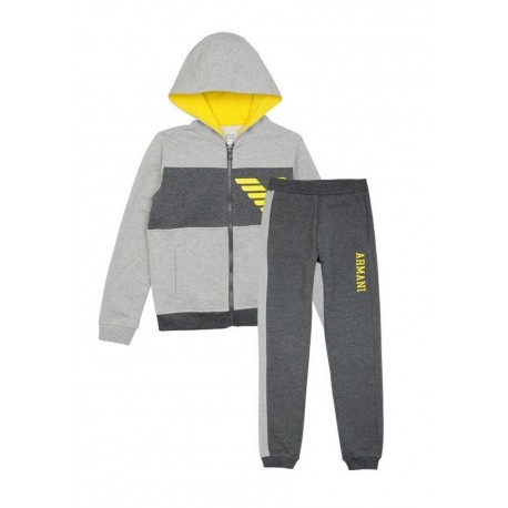 ARMANI JUNIOR - Ensemble survêtement gris