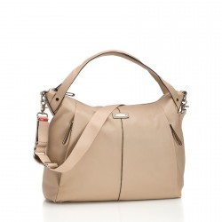 Sac à langer Catherine Leather beige