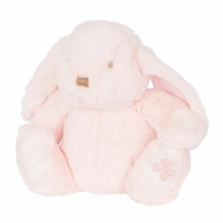 Peluche musicale lapin Augustin rose