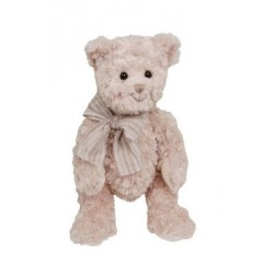 Peluche ours Pierrot taupe