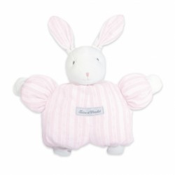 Peluche 1977 lapin Augustin rose