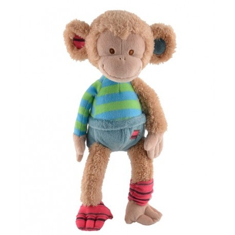 BUKOWSKI - Peluche singe Uncle Monkey