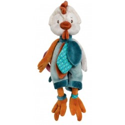 BUKOWSKI - Peluche poule The Big Chicky bleue
