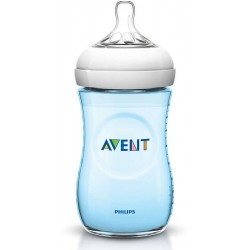 AVENT - Biberon Natural bleu 260 ml
