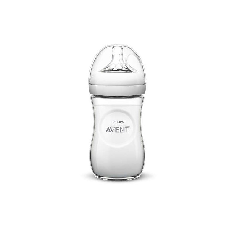 AVENT - Biberon natural hippo 260ml