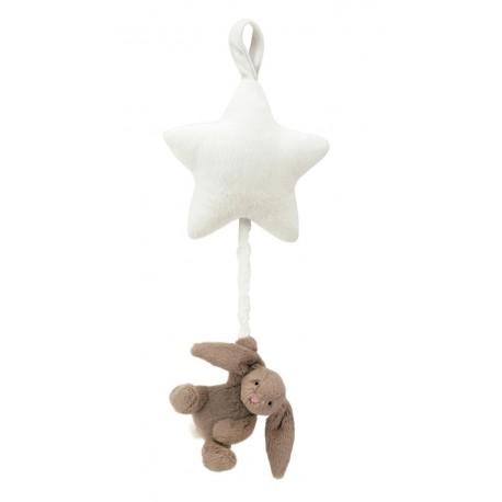 JELLYCAT - Etoile musicale Lapin Beige