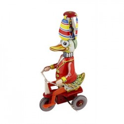 Bass & Bass - Jouet Canard Sur Tricycle