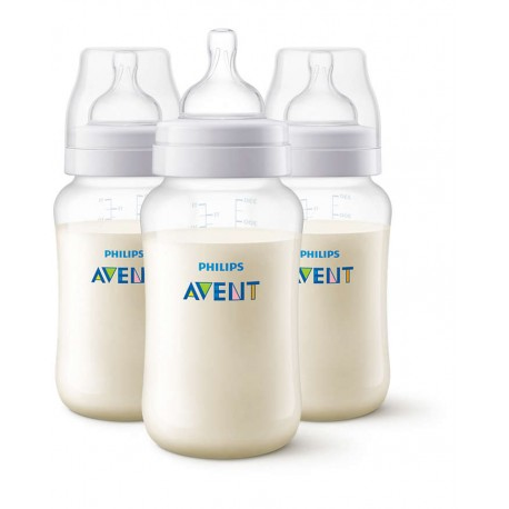 AVENT - Lot de 3 biberons Anti-colics- 330 mL